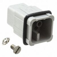 TE Connectivity AMP Connectors - 2-1103104-3 - INSERT MALE 8POS+1GND CRIMP