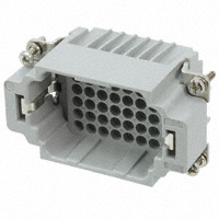 TE Connectivity AMP Connectors - 2-1103204-3 - INSERT MALE 42POS+1GND CRIMP