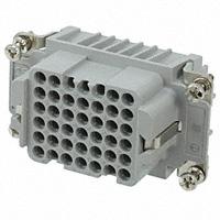 TE Connectivity AMP Connectors - 2-1103206-3 - INSERT FEMALE 42POS+1GND CRIMP