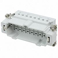 TE Connectivity AMP Connectors - 2-1103638-3 - INSERT MALE 16POS+1GND CRIMP