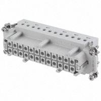 TE Connectivity AMP Connectors - 2-1103641-3 - INSERT FEMALE 24POS+1GND CRIMP