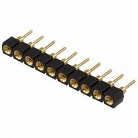 TE Connectivity AMP Connectors - 510-AG90D-10 - CONN SOCKET SIP 10POS GOLD