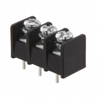 "TE Connectivity AMP Connectors - 4DB-P108-03 - CONN BARRIER STRIP 3CIRC 0.325"""
