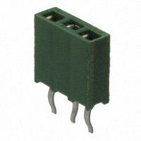 TE Connectivity AMP Connectors - 215297-3 - CONN RCPT 3POS .100 VERT T/H