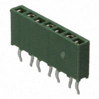 TE Connectivity AMP Connectors - 215297-7 - CONN RCPT 7POS .100 VERT T/H