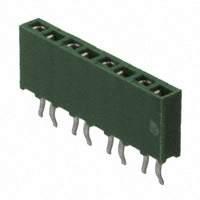 TE Connectivity AMP Connectors - 215297-8 - CONN RCPT 8POS .100 VERT T/H
