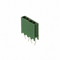 TE Connectivity AMP Connectors - 215299-4 - CONN RCPT 4POS VERT T/H GOLD