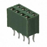 TE Connectivity AMP Connectors - 215307-4 - CONN RCPT VERT HV-100 8POS