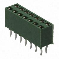 TE Connectivity AMP Connectors - 215307-7 - CONN RCPT 14POS VERT .100 GOLD