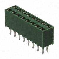 TE Connectivity AMP Connectors - 215307-8 - CONN RCPT VERT HV-100 16POS