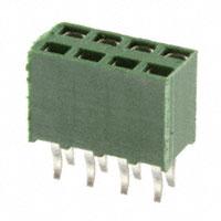 TE Connectivity AMP Connectors - 215308-4 - CONN RECEPT 8POS DUAL T/H