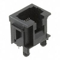 TE Connectivity AMP Connectors - 216550-2 - CONN MOD JACK 8P8C VERT UNSHLD