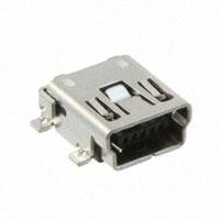 TE Connectivity AMP Connectors - 2-1734035-2 - CONN MINI USB RCPT