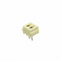 TE Connectivity AMP Connectors - 2-173983-2 - CONN HEADER 2POS 2MM HORIZON YEL