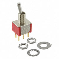 TE Connectivity ALCOSWITCH Switches - 2-1825138-4 - SWITCH TOGGLE DPDT 0.4VA 20V