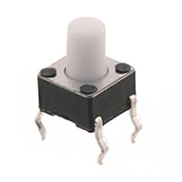 TE Connectivity ALCOSWITCH Switches - 2-1825910-2 - SWITCH TACTILE SPST-NO 0.05A 24V