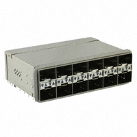 TE Connectivity AMP Connectors - 2198339-2 - ZSFP+ STACKED 2X6 W/4 LP GASKET