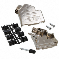 TE Connectivity AMP Connectors - 2198618-9 - CONN BACKSHELL DB9 45 DEG