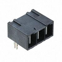 TE Connectivity AMP Connectors - 2204529-2 - ELCON MINI 3P RA HEADER,SOLDER,S