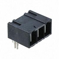 TE Connectivity AMP Connectors - 2204581-2 - ELCON MINI 3P RA HEADER,PRESS-FI