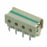 TE Connectivity AMP Connectors - 2-2106751-4 - CONN IDC HOUSING 4POS 22AWG T/H