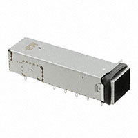TE Connectivity AMP Connectors - 2297551-2 - MICROQSFP 1X1 CAGE ASSY, EMI GAS