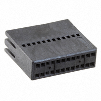 TE Connectivity AMP Connectors - 2-487938-4 - CONN FFC RCPT HSG 24POS 1.27MM