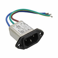 TE Connectivity Corcom Filters - 2-6609008-9 - PWR ENT RCPT IEC320-C14 PNL WIRE
