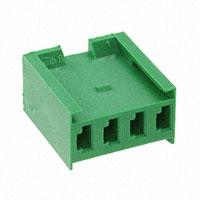 TE Connectivity AMP Connectors - 280591 - CONN RCPT HOUSING 4POS GREEN