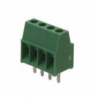 TE Connectivity AMP Connectors - 282834-4 - TERM BLOCK 4POS SIDE ENT 2.54MM