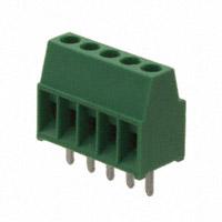 TE Connectivity AMP Connectors - 282834-5 - TERM BLOCK 5POS SIDE ENT 2.54MM
