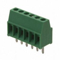 TE Connectivity AMP Connectors - 282834-6 - TERM BLOCK 6POS SIDE ENT 2.54MM