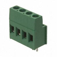 TE Connectivity AMP Connectors - 284392-4 - TERM BLOCK 4POS SIDE ENT 3.81MM