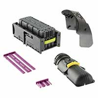 TE Connectivity AMP Connectors - 284743-1 - 94 POS CONN+COVER AND CPS KIT