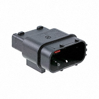 TE Connectivity AMP Connectors - 284844-1 - CONN TAB HSNG 12POS STR BLACK