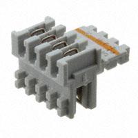 TE Connectivity AMP Connectors - 284932-4 - DUOPLUG MKI STD,KEYED 1/2,4 POS