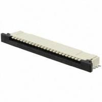 TE Connectivity AMP Connectors - 2-84953-2 - CONN FPC TOP 22POS 1.00MM R/A
