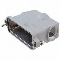 TE Connectivity AMP Connectors - 3-1102755-5 - CONN HOOD SIDE ENTRY SZ8 PG29