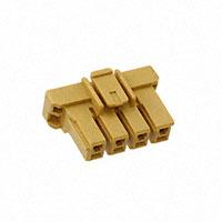 TE Connectivity AMP Connectors - 3-1376390-4 - 5MM POWER KEY 4P PLUG HSG YELL