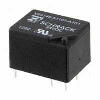 TE Connectivity Potter & Brumfield Relays - V23148A1107A101 - RELAY GEN PURPOSE SPDT 5A 24V