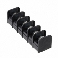 "TE Connectivity AMP Connectors - NC6-P108-06 - CONN BARRIER STRIP 6CIRC 0.375"""