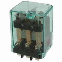TE Connectivity Potter & Brumfield Relays - 15723C200 - RELAY GEN PURPOSE 3PDT 10A 24V