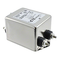 TE Connectivity Corcom Filters - 3-1609037-9 - LINE FILTER 250VAC 20A CHASS MNT