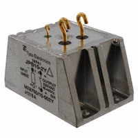 TE Connectivity Aerospace, Defense and Marine - JPS10-2Y - RELAY 250V OUT SLD HOOKS PNL MNT