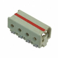 TE Connectivity AMP Connectors - 3-2106431-4 - CONN IDC HOUSING 4POS 24AWG SMD