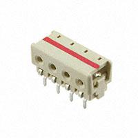 TE Connectivity AMP Connectors - 3-2106489-4 - CONN IDC HOUSING 4POS 24AWG T/H