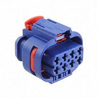 TE Connectivity AMP Connectors - 3-2109441-8 - MCP 2.8 8P PLUG ASSY S-BLU/D