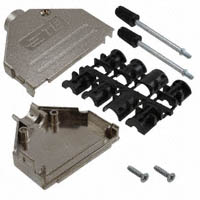 TE Connectivity AMP Connectors - 3-2198617-7 - CONN BACKSHELL DB37 180 DEG