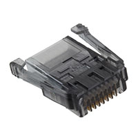 TE Connectivity AMP Connectors - 3-520424-3 - CONN PLUG 8POS SDL 24-26AWG RND