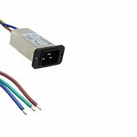TE Connectivity Corcom Filters - 3-6609006-1 - PWR ENT RCPT IEC320-C20 PNL WIRE